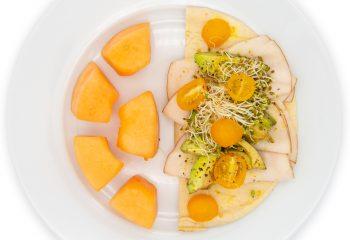 Dijon Avocado Pita